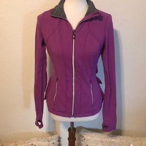 Lululemon Ruffled Athletic Jacket Size 8